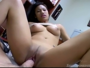 Exciting sex clip with sexy Asian girl Lucy Thai in the bedroom
