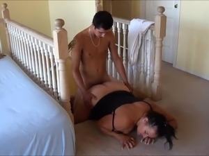 Hot BBW Business Woman Jennifer With Younger Guy Part 3