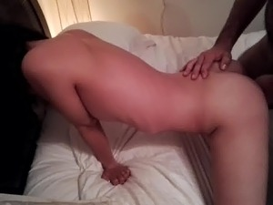 First time asian cuckold with white dick while hubby films