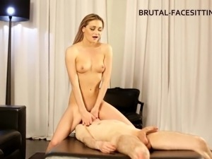 Eye catching foot fetish blonde performing her lovely teases in femdom porn