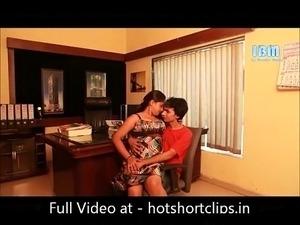 Hot Sexy Boss Interview sex big boobs Indian Actress - hotshortclips.in