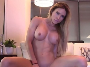 Milf Squirts from Huge Dildo and she loves It !