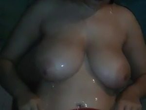 arab girl film herself showering naked part1