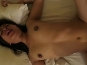 indonesian GF fucked in hotel room