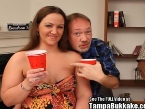 Ass lick anl slutwife Heidi gangbanged by Dirty D and hid members