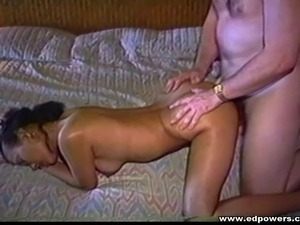Nerdy guy takes a cute Asian to bed and bangs her slutty hole