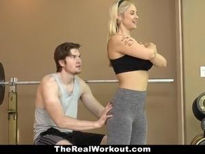 Hot Milf Fucks Fitness Client