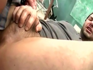 Masculine old man gay porn College Boy