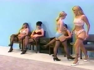 femdom whipping in lingerie (bra and fullback pantys)
