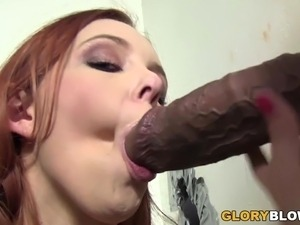 Miss Marie Gets BBC - Gloryhole