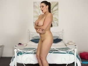Cherry Blush is known for her incredibly busty curves and flirty personality