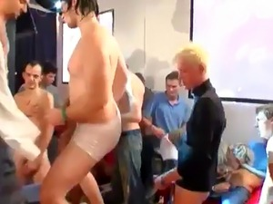 Gay porn cay ass men first time the club filled with screens