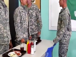gay army sexy males first time Yes Drill Sergeant!