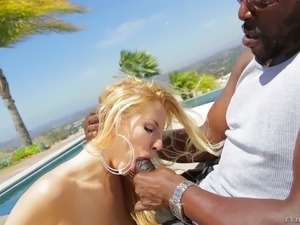Nothing is hard for Ashley Fires when it comes to sex and she loves big cocks