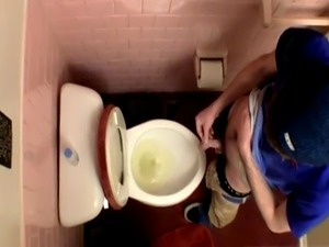 Gay sexy black guys with big feet first time Unloading In The Toilet B