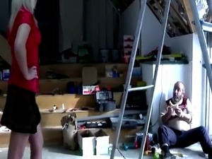 Mature dude has the time of his life with hot blonde