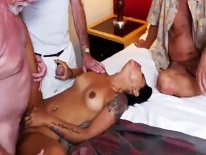 Good blowjob and pregnant cumshot Staycation with a Latin Hottie