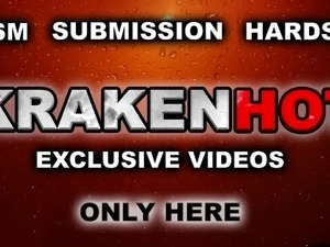 Krakenhot - Hot redhead milf in outdoor BDSM exclusive video