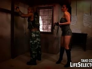 Aletta Ocean gets fucked by black soldier in his wildest hallucinations