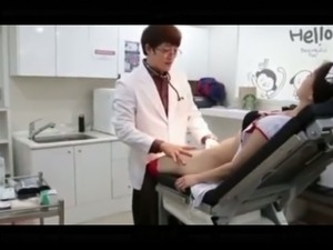 Having sex with a pretty Korean nurse and enjoying every fucking minute