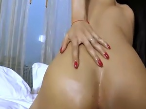 Asian ladyboy with perfect skin gets fucked bareback