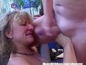Blonde Tattooed Pussy Pierced Mature Fucked