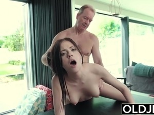 Rebecca Volpetti Hot Teen Getting Fucked By Old Man