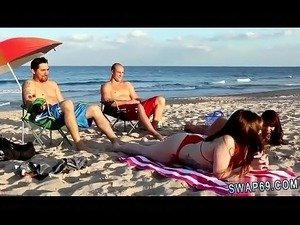 Teen virgin pussy first time Beach Bait And Switch