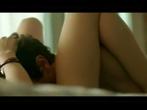 Lucy Hale hot tits in a sex scene