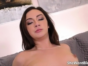 Lily Jordan Hammered by Big Black Cock
