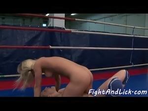 Euro teens love assfingering after wrestling
