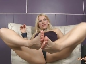 af Self Foot Worship tease