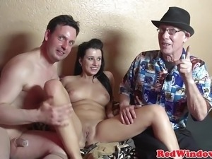 Amsterdam hooker feet sucked and pussyfucked