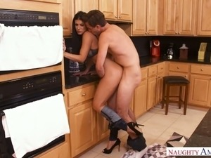 Seductive milf India Summer is fucked hard by horny stepson