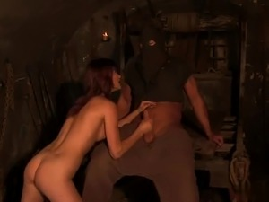 Prisoner Theodora Ferreri fucks for freedom
