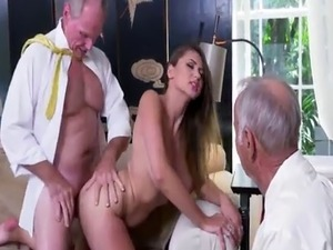 Old couple young swingers and hairy pussy masturbation Ivy impresses w