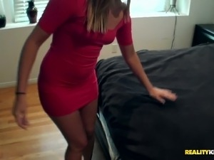 Dude picks up a hot girl, takes her home and fucks her