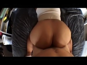 Nice Ass Tatted Asian POV Doggy