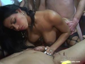 Sperma-Studio: Perverse Cum Orgy