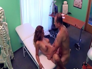 Doctor fucking too sexy blonde