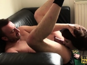 British sub milf assfucked until cumshot