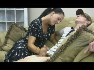 Stacey's Mom - Veronica Cfnm Handjob