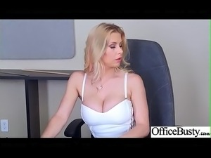 (Rachel RoXXX) Big Tits Horny Office Girl Get Nailed Hardcore vid-24