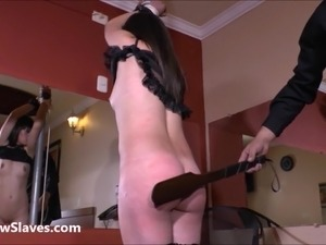 Sarahs south american spanking and corporal punishment of red bottomed latina