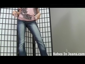 Do you like when I shake my ass in these tight jeans JOI