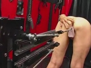 Another Granny Works out on a Sex Machine