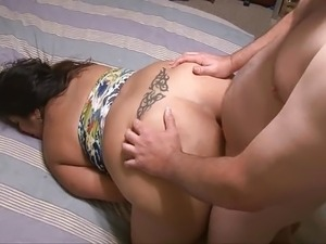 Anal Big Tit Big Butt Mexican Housewife BBW MILF