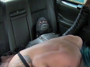Busty cab driver bangs huge black cock