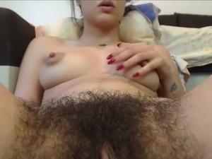 My Girlfriends Hairy Teen Pussy