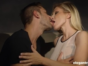 Stunning blonde Vittoria Risi wants to be seduced for a fuck